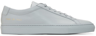 Common Projects Grey Achilles Low Sneakers