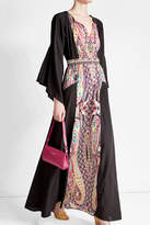 Etro Floor Length Printed Dress
