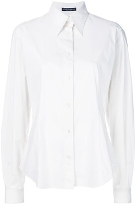 Dolce & Gabbana Pre Owned Pointed Collar Shirt