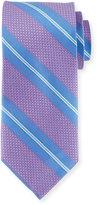 Peter Millar Striped Silk Tie, Parade