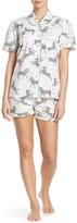 Sant And Abel Zebra Shorts & Shirt Pajama 2-Piece Set