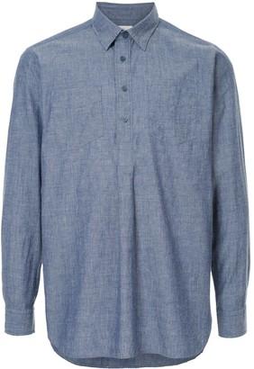 Kent & Curwen henley shirt