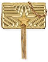 Stella McCartney Stella Star Alter Metallic Small Shoulder Bag
