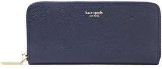 Kate Spade Pebbled-leather Wallet