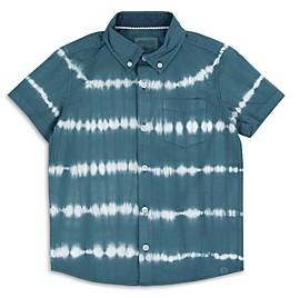 Sovereign Code Boys' Hawthorne Tie Dye Short Sleeve Button Down Shirt - Little Kid, Big Kid