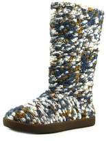 Sanuk Toasty Tails Knit Women Round Toe Canvas Multi Color Winter Boot.