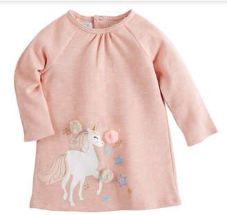 Mud Pie Unicorn Raglan Dress