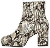 Margarita snake ankle boots