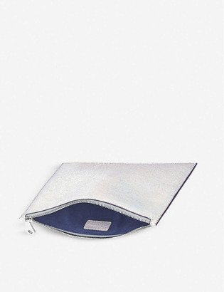 Aspinal of London Essential small leather flat pouch