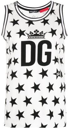 Dolce & Gabbana Star Print Tank Top