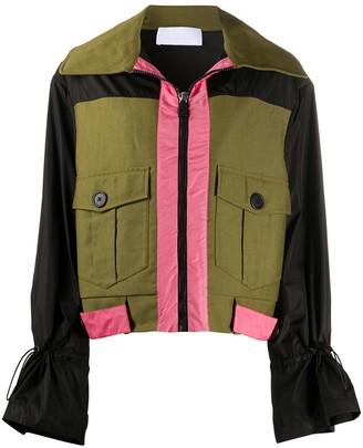 NO KA 'OI No Ka' Oi patch pocket jacket