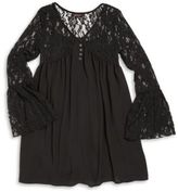 Ella Moss Girl's V-Neck Lace Dress