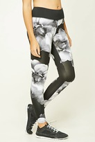 Forever 21 Active Floral Print Leggings