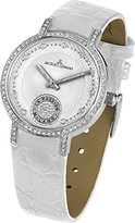 Jacques Lemans Women's 1-1725B Milano Classic Analog Shiny Swarovski Crystals Watch