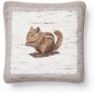 Donna Sharp Birch Forest Chipmunk Decorative Pillow