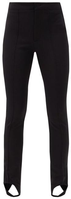MONCLER GRENOBLE Stirrup Skinny-fit Ski Trousers - Black