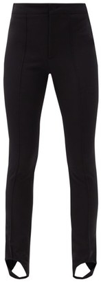 MONCLER GRENOBLE Stirrup Slim-leg Ski Trousers - Black