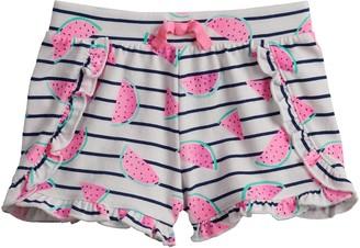 Baby Girl Jumping Beans Ruffled Shorts