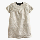 J.Crew Girls' MaanTM ivory lamé dress