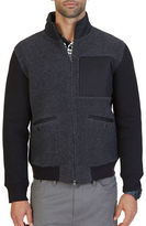 Nautica Active-Fit Sherpa Track Jacket