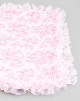 cachcach China Doll Blanket, Pink