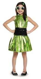 BuySeasons Powerpuff Girls Buttercup Deluxe Little and Big Girls Costume