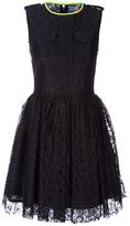 Msgm lace detail dress