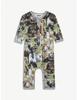 Molo Fleming jungle-print baby grow 3-18 months