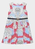 Versace Barocco Instante Dress