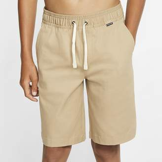 """Nike Boys' 17.5"""" Chino Walkshorts Hurley One And Only Stretch"""