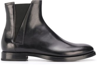 Silvano Sassetti Elasticated Side Panel Ankle Boots