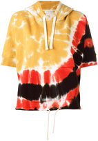 Faith Connexion tie-dyed hoodie - women - Cotton - XS