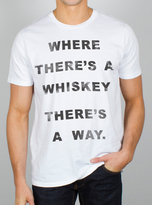 Junk Food Clothing Where There's A Whiskey There's A Way-elecw-s