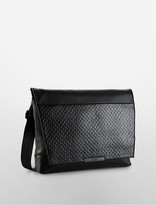 Calvin Klein Aiden City Textured Messenger Bag