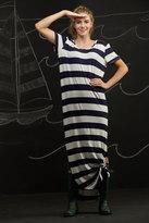 Shabby Apple Baltic Sea Maxi Dress Black and White
