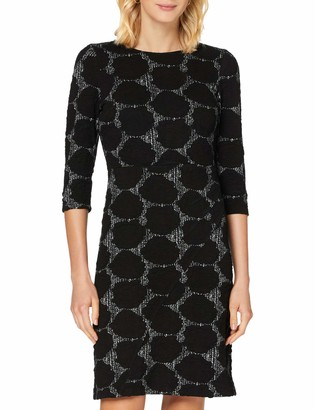APART Fashion Women's Jersey Jacquard Dress Cocktail