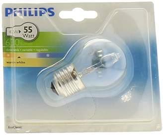 Philips EcoClassic Lustre lamp Halogen lustre bulb - halogen bulbs (Lustre, E27, Clear, C, Warm white, Hg (mercury))