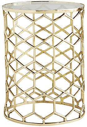 Arteriors Thursbey Accent Table - Polished Brass