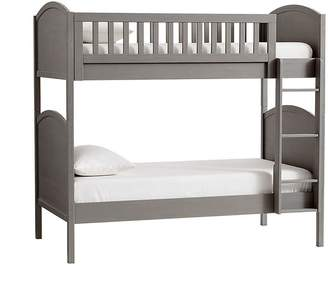 Pottery Barn Kids Austen Twin-over-Twin Bunk Bed & Mattress Set