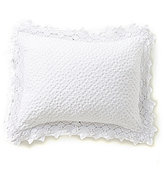 Southern Living Mirabelle Lace-Trimmed Matelasse Oblong Pillow
