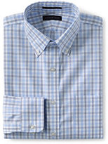 Classic Men's Pattern No Iron Supima Pinpoint Buttondown Collar-White