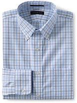 Classic Men's Pattern No Iron Supima Pinpoint Buttondown Collar-White