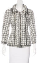 Chanel Silk Bouclé Jacket