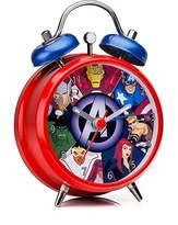 Marvel Mini Twin Bell Alarm Clock