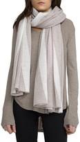 White + Warren Women's Travel Intarsia Cashmere Wrap