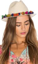 Mercedes Salazar Carmen Miranda Hat in Ivory.