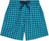 Vilebrequin Geometric Print Turtle Shorts