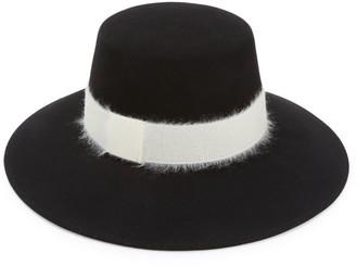 Eugenia Kim Stevie Mohair-Blend Band Wool Bucket Hat