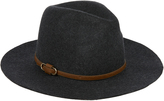 Accessorize Vintage Buckle Detail Fedora Hat