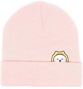 Ireneisgood Slogan Embroidered Beanie Hat
